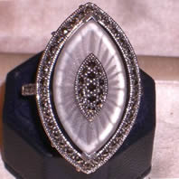 R. Lalique Ring Fake Jewelry - Not by Rene Lalique