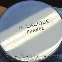 R Lalique Fake Signature - Not by Rene Lalique
