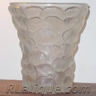 R. Lalique Vase Fake - Not by Rene Lalique