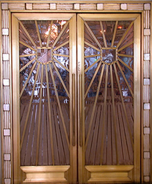 Oviatt Building Doors In Los Angeles by Rene Lalique