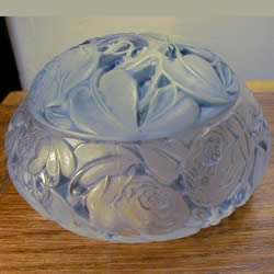 Dinard R Lalique Covered Box