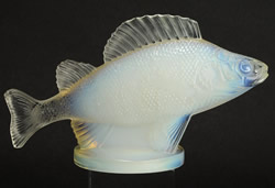 Perche Car Mascot By Rene Lalique Missing Top Of Fin
