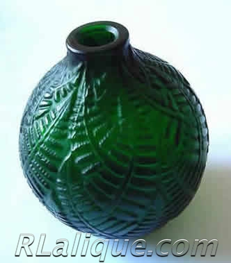 R.Lalique Vase Fake - Not by Rene Lalique