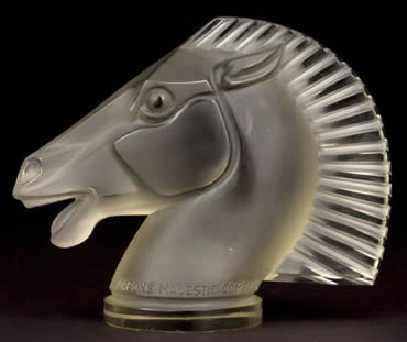 Longchamp Car Mascot Copy By Pesons Majestic Of Rene Lalique Design