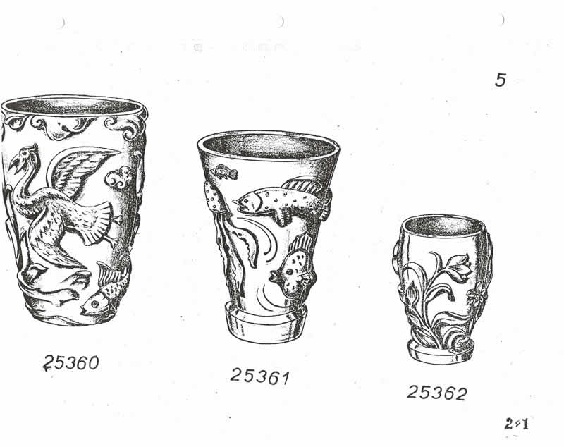 Glassexport Jablonecglass Glass Catalogue of Czechoslovakian Glass With Is Often Found With Forged Rene Lalique Signatures: Page 5