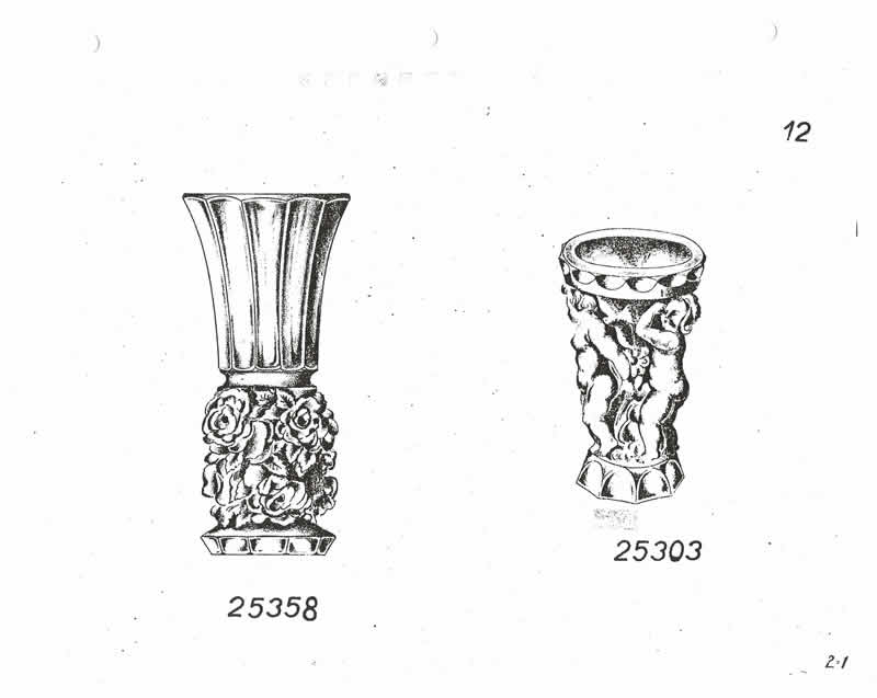 Glassexport Jablonecglass Glass Catalogue of Czechoslovakian Glass With Is Often Found With Forged Rene Lalique Signatures: Page 12