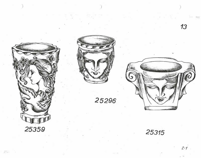 Glassexport Jablonecglass Glass Catalogue of Czechoslovakian Glass With Is Often Found With Forged Rene Lalique Signatures: Page 13
