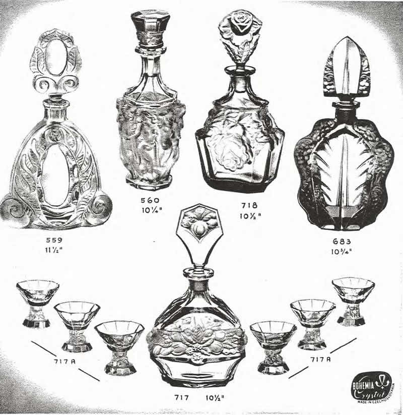 Weil Ceramics & Glass Inc. Catalog For Barolac Sculpture Glass - Czech Bohemian Glass That Is Often Found With Fake or Forged R. Lalique France Signatures: Page 6