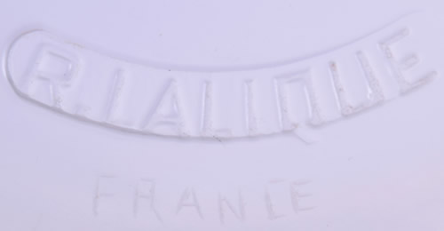 R. LALIQUE Molded And FRANCE Cut Signature On Underside Of A Primeveres Box