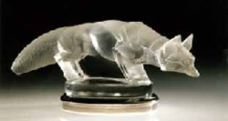 Lalique Car Mascot Renard - Fox