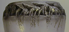 R Lalique Cire Perdue Wasp Vase by Rene Lalique