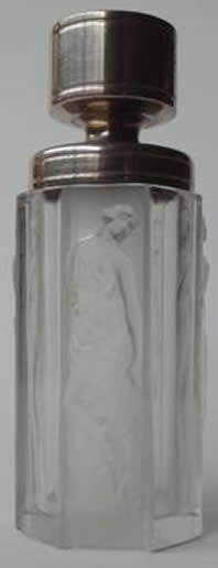 Rene Lalique 4 Figurines Atomizer