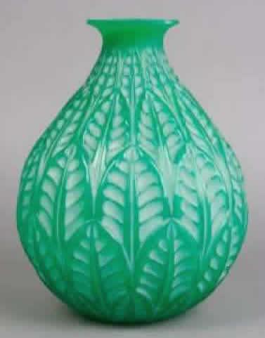 Rene Lalique Vase Malesherbes
