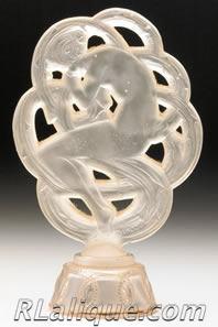 Rene Lalique Perfume Bottle Ambre De Siam