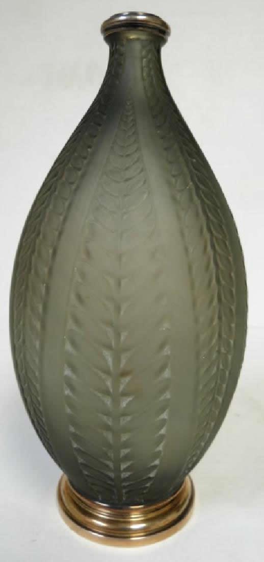 Rene Lalique Vase Acacia