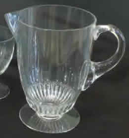 R. Lalique Alger Pitcher