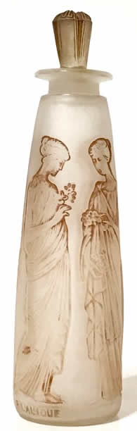 Rene Lalique Ambre Antique Flacon