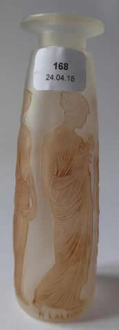 Rene Lalique Flacon Ambre Antique