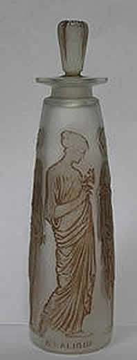 Rene Lalique Perfume Bottle Ambre Antique