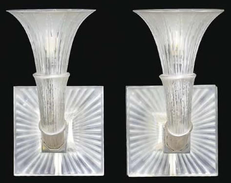 Rene Lalique Amsterdam-2 Sconce