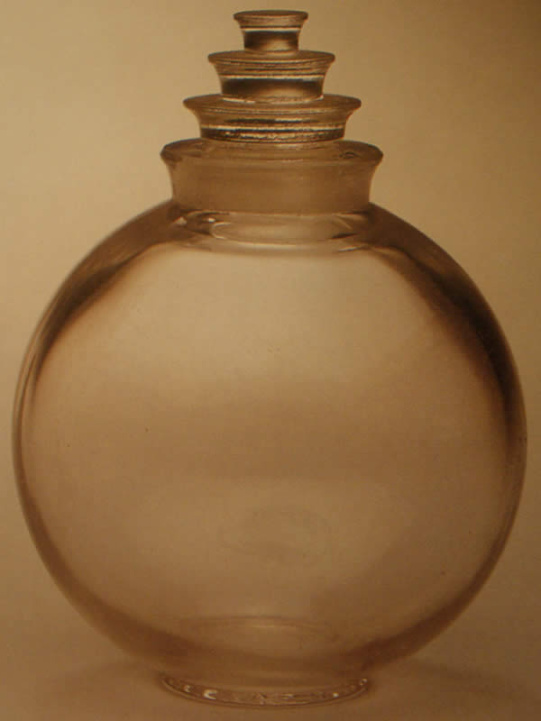 Rene Lalique Anna Perfume Bottle