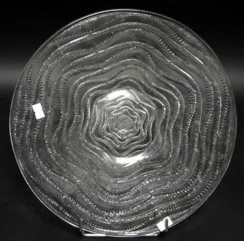 Rene Lalique Plate Annecy