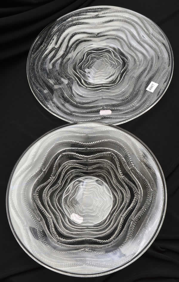 Rene Lalique Annecy Tableware