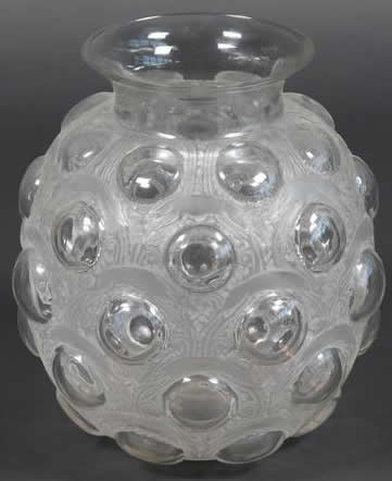 Rene Lalique Antilopes Vase