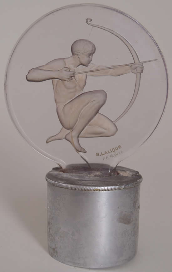 Rene Lalique Car Mascot Archer