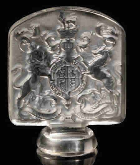 Rene Lalique Armes D'Angleterre Seal