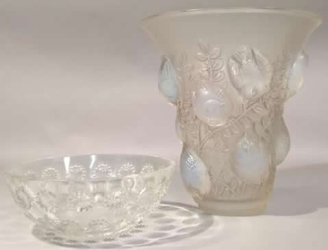 R. Lalique Asters Bowl