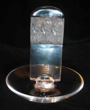 Rene Lalique Athletes Ashtray