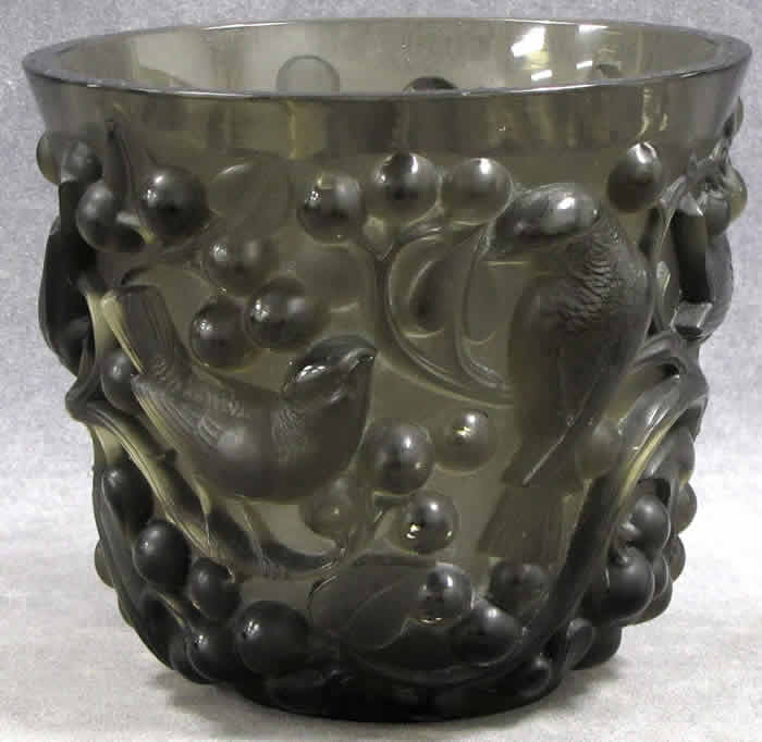 Rene Lalique Avallon Vase