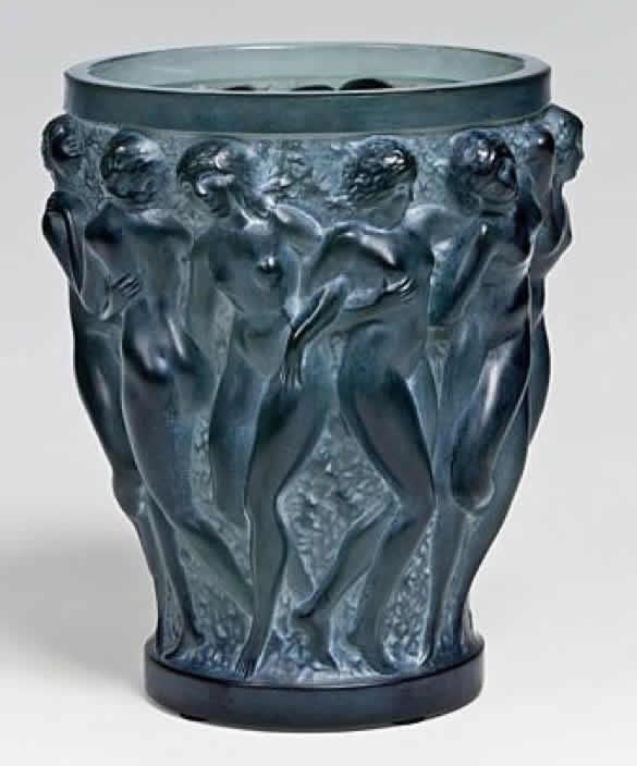 Rene Lalique Bacchantes Vase 4518 Rlalique