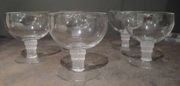 Rene Lalique Bambou Glass