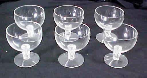 Rene Lalique Bambou Wine Glass
