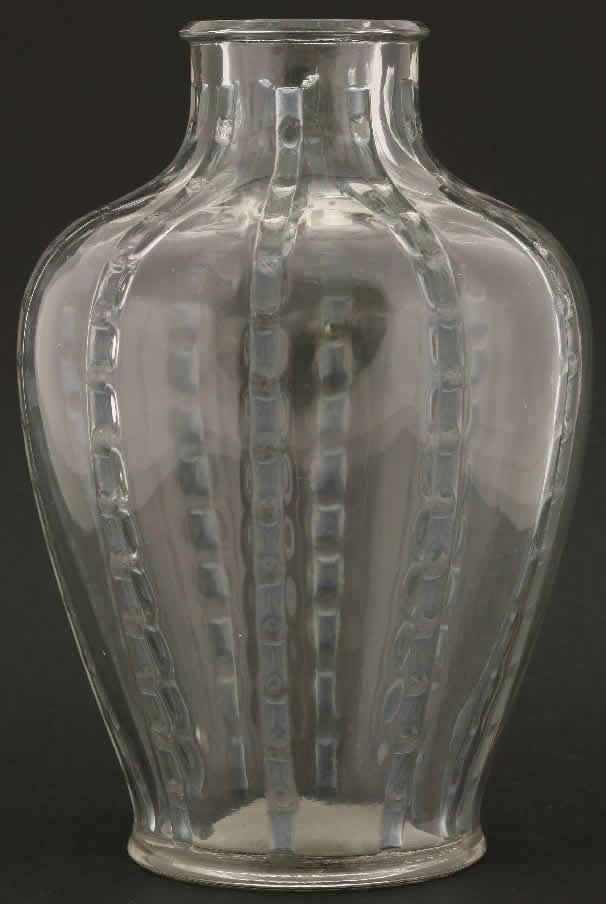 Rene Lalique Bandes De Roses Vase Rlalique