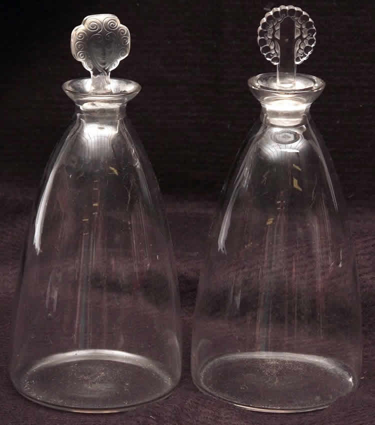 Rene Lalique Decanter Barr