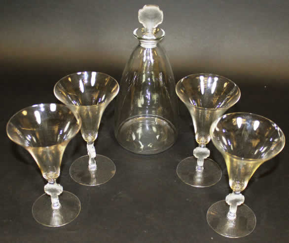 Rene Lalique Tableware Barr