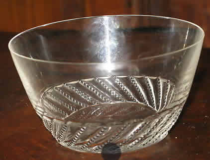 Rene Lalique Beaune Bowl