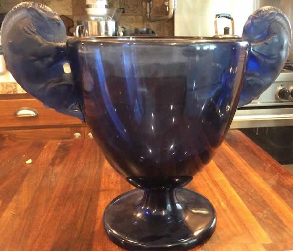 Rene Lalique Vase Beliers