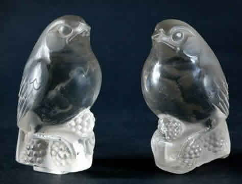 Rene Lalique Birds Decoration