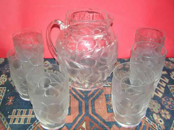 Rene Lalique Blidah Glass