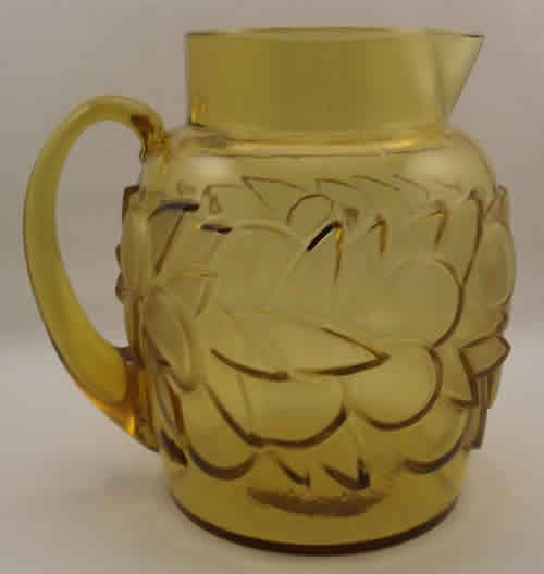 Rene Lalique Pitcher Blidah