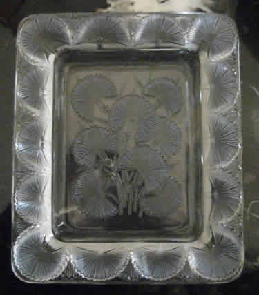 Rene Lalique Bluets Ashtray