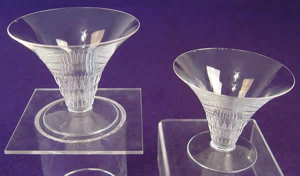 Rene Lalique Bourgueil Champagne Glass