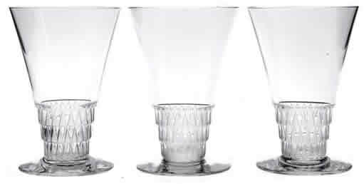 Rene Lalique Bourgueil Glass