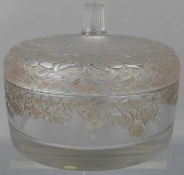 Rene Lalique Boutons D'Or Powder Box