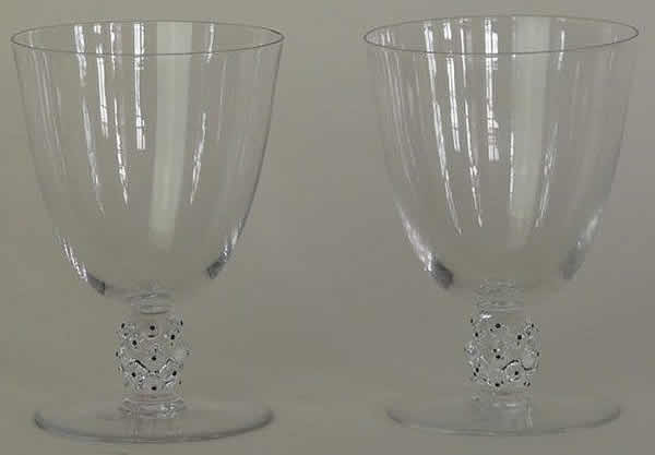 Rene Lalique Cactus Water Glass