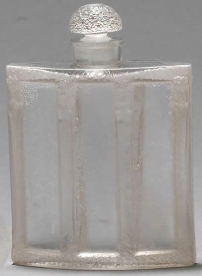 Rene Lalique Calendal-3 Perfume Bottle